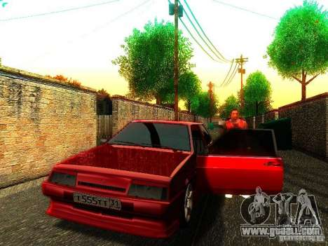 VAZ 2108 Vintage Tuning for GTA San Andreas left view