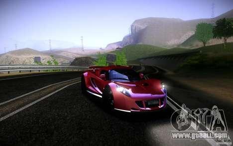 Hennessey Venom GT 2010 V1.0 for GTA San Andreas back left view