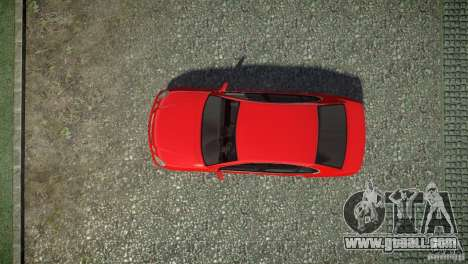 Toyota Aristo for GTA 4 back view