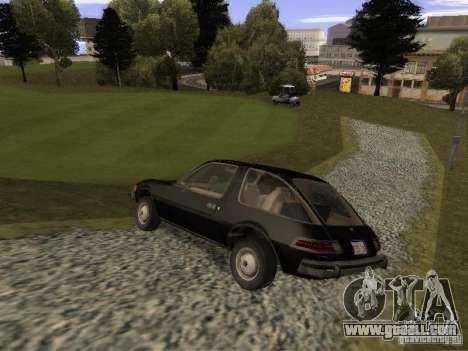 AMC Pacer for GTA San Andreas left view