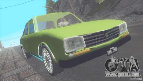 Peugeot 504 for GTA San Andreas left view