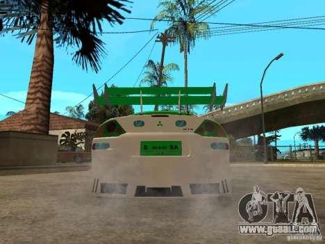 Mitsubishi Eclipse Midnight Club 3 DUB Edition for GTA San Andreas back left view