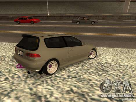 Honda Civic EG6 JDM for GTA San Andreas left view
