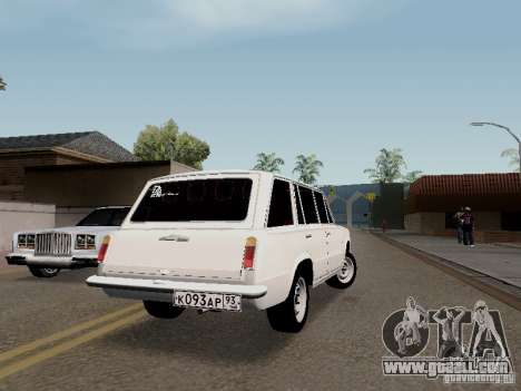 VAZ 2102 for GTA San Andreas back left view