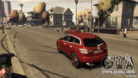 Mazda CX-7 for GTA 4 right view