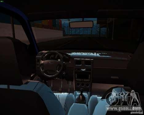 VAZ-2172 Restajl for GTA San Andreas side view