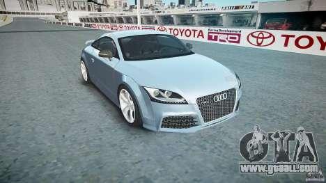 Audi TT RS 2010 for GTA 4 inner view
