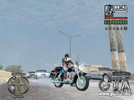 Helmet mod for GTA San Andreas