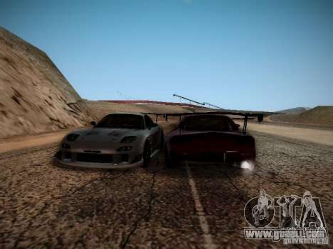 Mazda RX7 Drift for GTA San Andreas back view