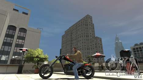 The Lost and Damned Bikes Diabolus for GTA 4