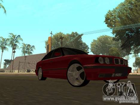 BMW 540i E34 for GTA San Andreas left view