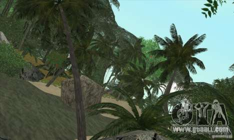 Tropical island for GTA San Andreas third screenshot