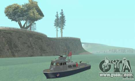Coast Guard Patrol Boat for GTA San Andreas