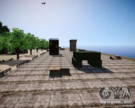 LC Crash Test Center for GTA 4 sixth screenshot