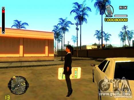 IPhone grenade v1 for GTA San Andreas