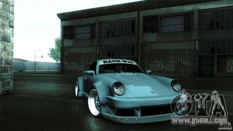 Porsche 911 Turbo RWB DS for GTA San Andreas right view