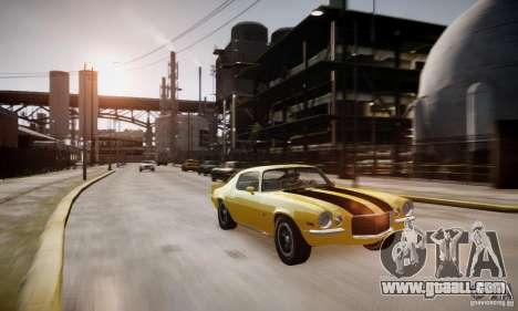 Chevrolet Camaro Z28 for GTA 4 side view
