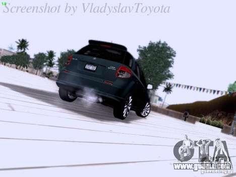 Suzuki SX4 Sportback 2011 for GTA San Andreas right view