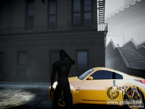 Spider Man Black Suit for GTA 4 second screenshot