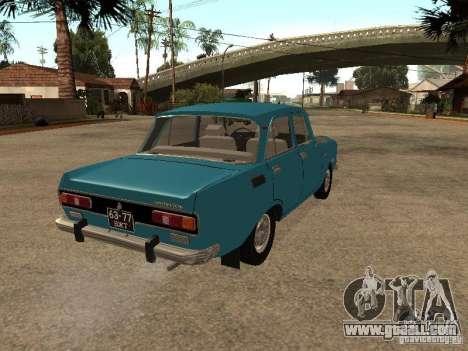 AZLK 2140 v2 for GTA San Andreas back left view
