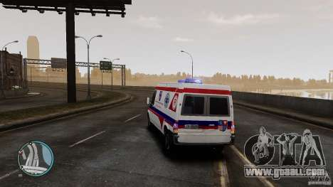 Ford Transit Ambulance for GTA 4 right view