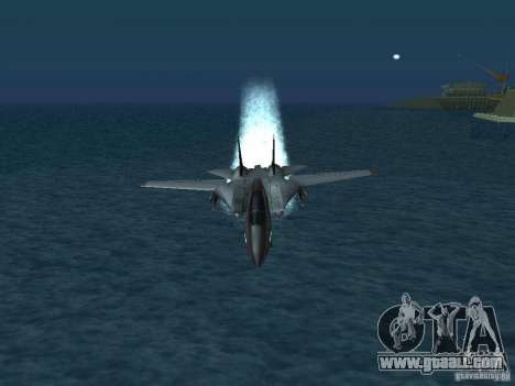 F-14 for GTA San Andreas right view