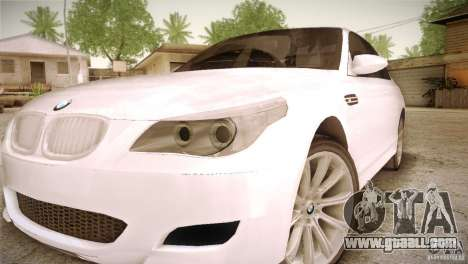 BMW M5 for GTA San Andreas side view