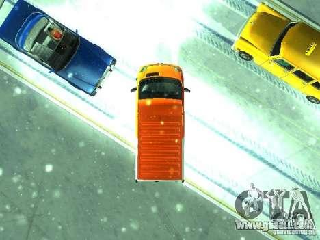 Vauxhall Vivaro v1.1 TNT for GTA San Andreas back view