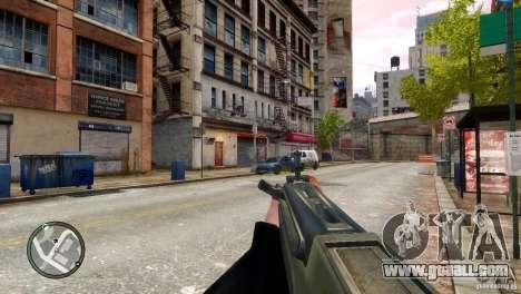 Tavor TAR-21 for GTA 4 fifth screenshot