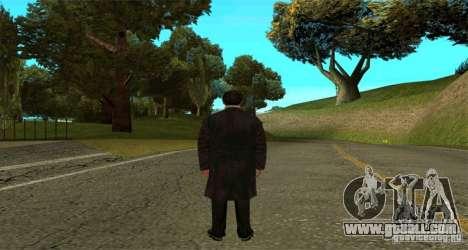 Vito Corleone for GTA San Andreas second screenshot