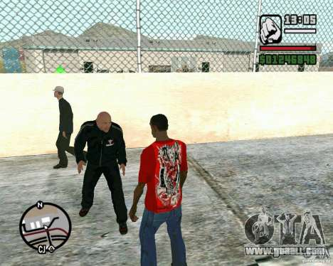 Dwayne The Rock Johnson for GTA San Andreas second screenshot