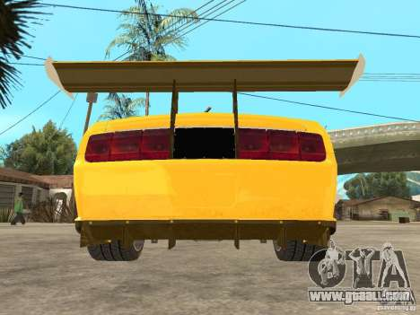 Ford Mustang GT-R for GTA San Andreas back view
