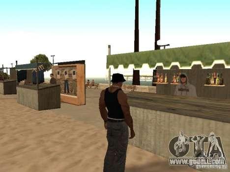 Market on the beach for GTA San Andreas sixth screenshot