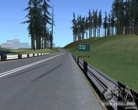 Road signs v1.1 for GTA San Andreas third screenshot