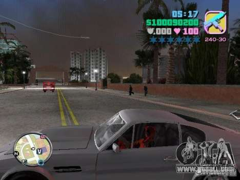 Deadpool for GTA Vice City third screenshot