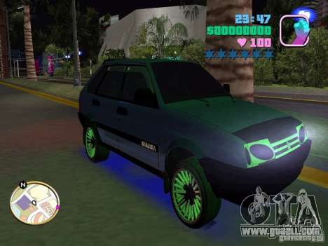 VAZ 2109 Samara for GTA Vice City right view