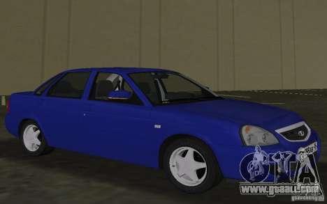 Lada 2170 Priora for GTA Vice City