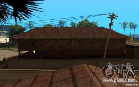 S.T.A.L.K.E.R House for GTA San Andreas third screenshot