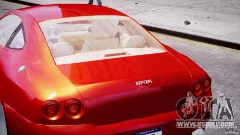 Ferrari 612 Scaglietti custom for GTA 4 interior