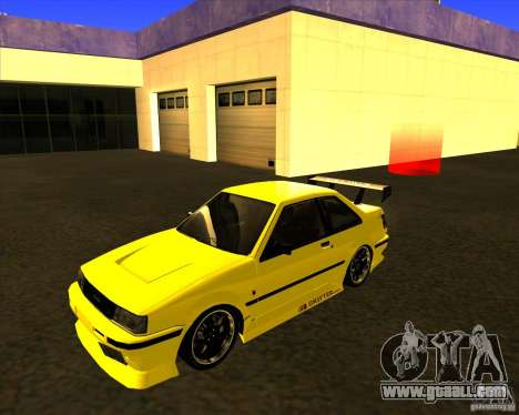 GTA VI Futo GT custom for GTA San Andreas