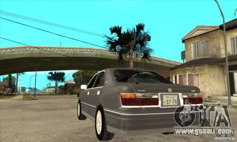 Toyota Crown Majesta S170 for GTA San Andreas side view