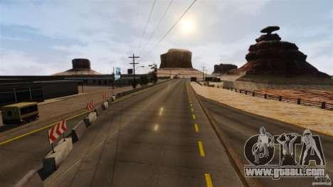Ambush Canyon for GTA 4 forth screenshot
