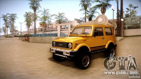 Suzuki Samurai for GTA San Andreas left view