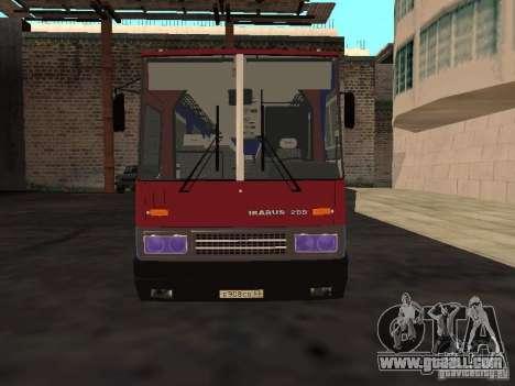 Ikarus 255 for GTA San Andreas
