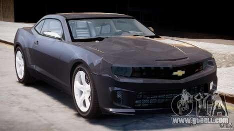 Chevrolet Camaro SS 2009 v2.0 for GTA 4 side view