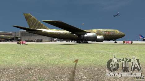 Airbus Military Mod for GTA 4 back left view