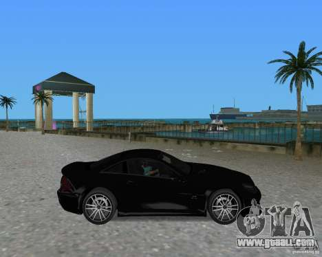 Mercedess Benz SL 65 AMG Black Series for GTA Vice City right view