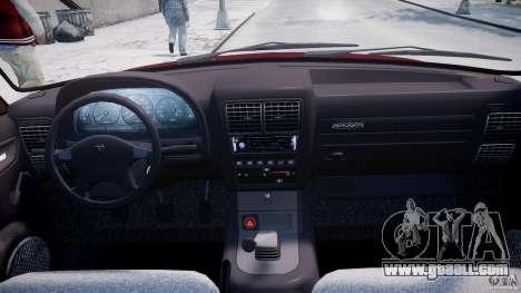 GAZ 3110 Volga for GTA 4 upper view