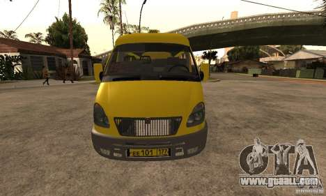 Gazelle 32213 Novosibirsk minibus for GTA San Andreas left view