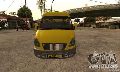 Gazelle 32213 Novosibirsk minibus for GTA San Andreas left view